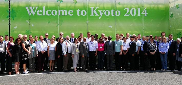 ISO meeting Kyoto, Japan